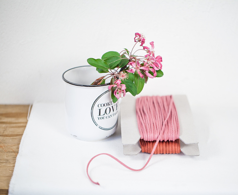 Хлопковый плетеный шнур