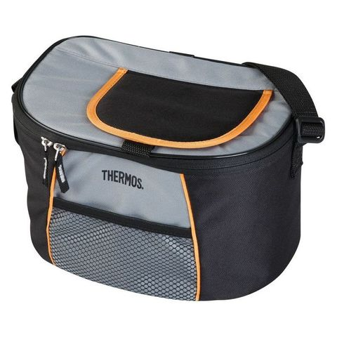 Сумка-термос Thermos E5 12 Can Cooler 490346 9л. черный/серый