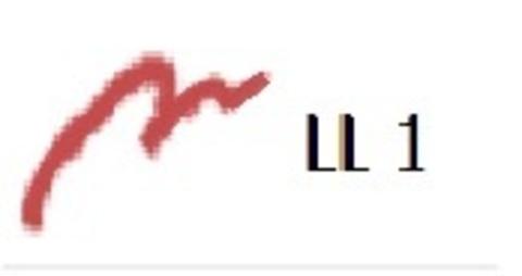 Картридж сменный для механического карандаша-подводки для губ Face the Lip Liner LL1 Wine Red, 0.25 г
