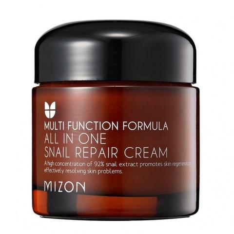 Крем с экстрактом улитки 92% Mizon All In One Snail Repair Cream