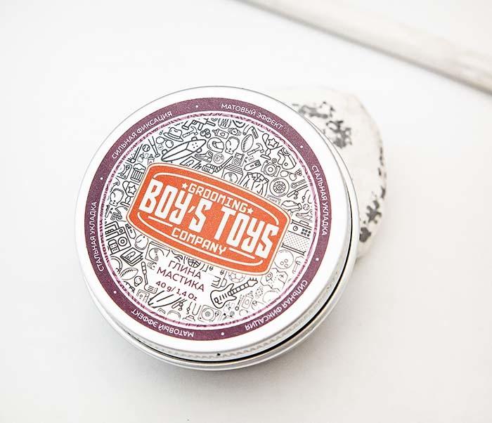 CARE160 Глина мастика для укладки волос Boy's Toys (40 гр)