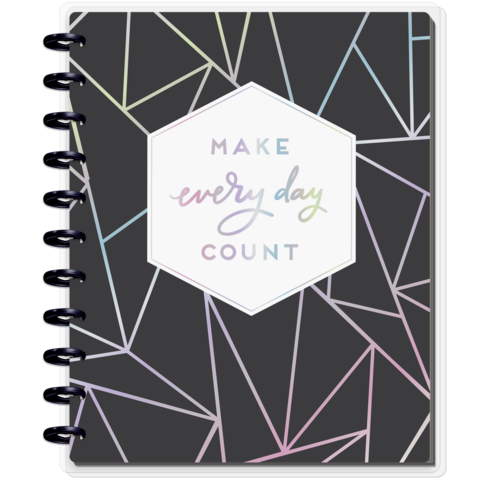 Блокнот с доп украшениями BIG Happy Notes™ Kit  -  21,5х28см-Geo