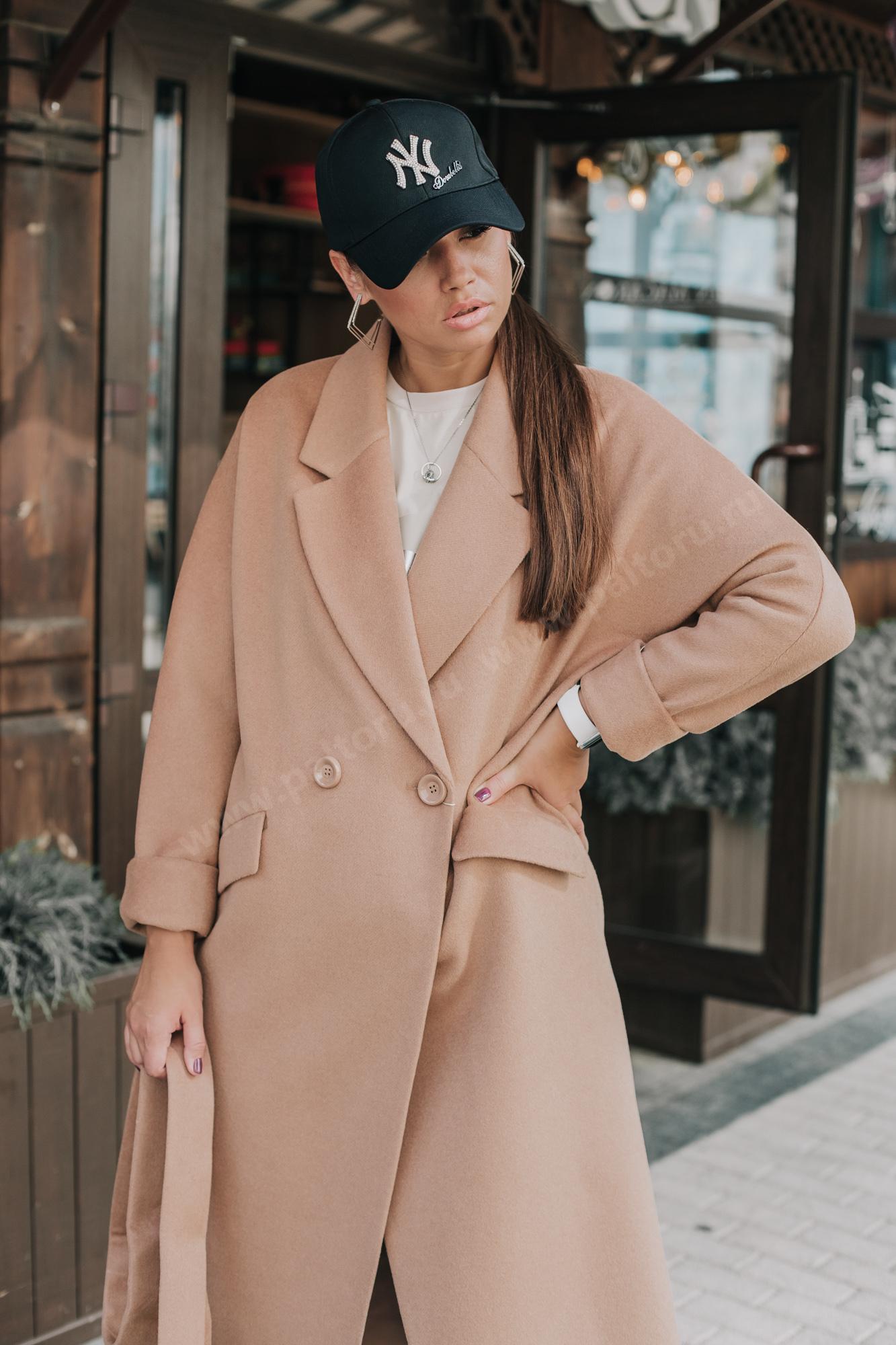 Пальто женское оверсайз|длинное