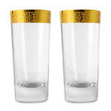 Набор стаканов для воды 468 мл Hommage Gold Classic, артикул 120626-2, производитель - Zwiesel 1872