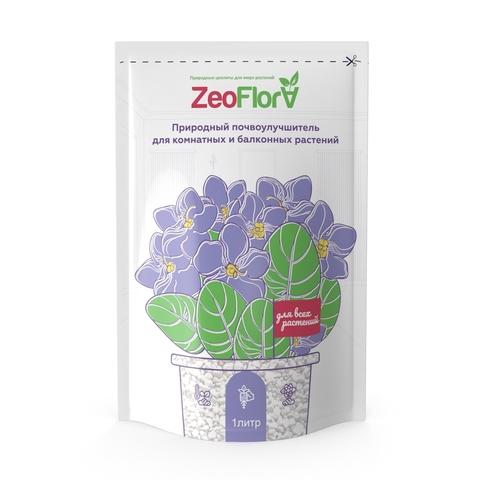 Почвоулучшитель универсальный для комнатных и балконных растений, 1 л ZeoFlora
