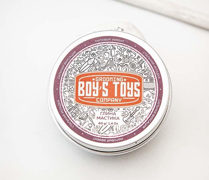 CARE160 Глина мастика для укладки волос Boy's Toys (40 гр) фото 02
