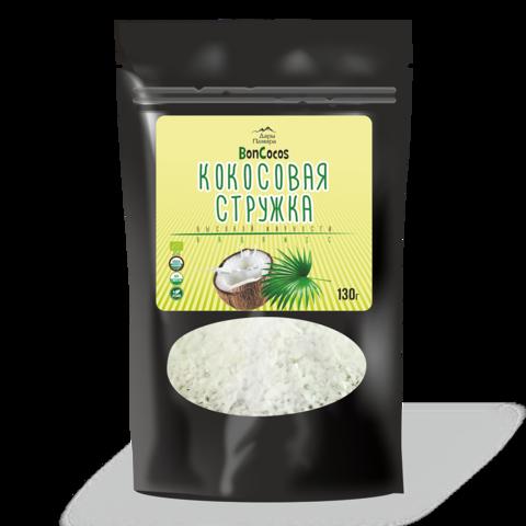Стружка кокосовая высокой жирности (Fine) BONCOCOS, Шри-Ланка 130 г
