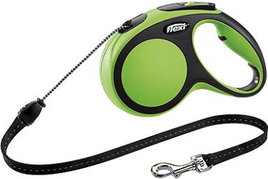 Рулетки Поводок-рулетка Flexi New Comfort М (до 20 кг) трос 5 м черный/зеленый 788255ea-3795-11e6-80f8-00155d29080b.png