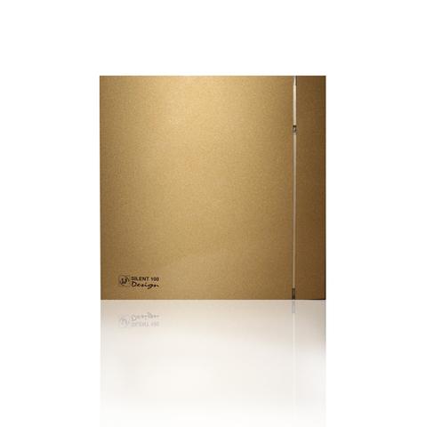 Накладной вентилятор Soler & Palau SILENT 200 CHZ DESIGN-3С GOLD (датчик влажности)