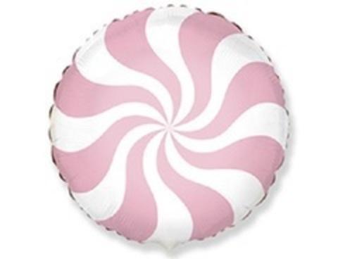 F Круг, Розовый леденец, конфета 18
