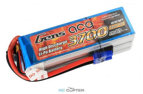 АКБ Gens ace 3700mAh 22.2V 60C 6S1P Lipo Battery Pack