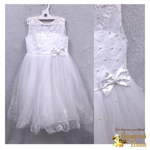 Платье на корсете девочке (5-7) 201204-ТР7751