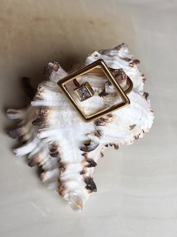 Кольцо Парнас, позолота