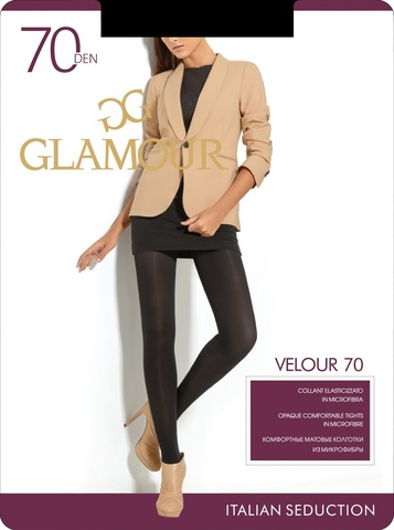 Glamour VELOUR 70 колготки женские