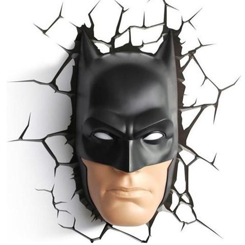 Светильник 3D Batman Mask