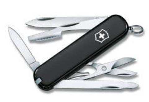 Нож Victorinox Executive, 74 мм, 10 функций, черный