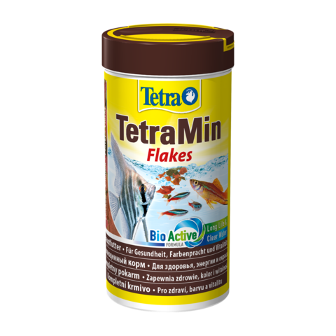 TetraMin Сухой корм для тропических рыб хлопья