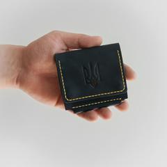Гаманець із затискачем Smart KOZAK, натуральна шкіра, ручна робота