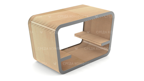 Скамейка с навесом SCAM0107
