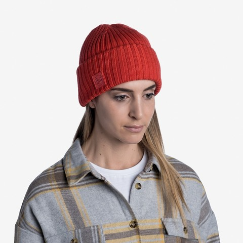 Вязаная шапка Buff Hat Knitted Ervin Fire фото 2
