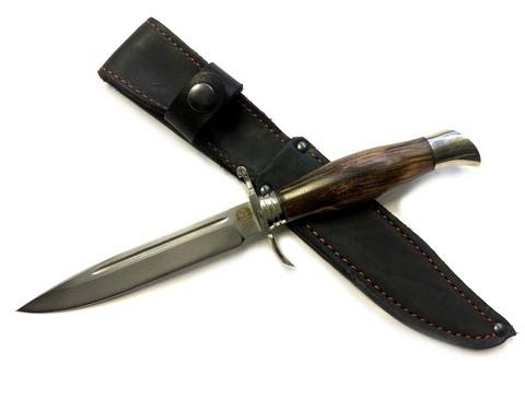 Финка НКВД, сталь К340, стабилизированная карельская береза