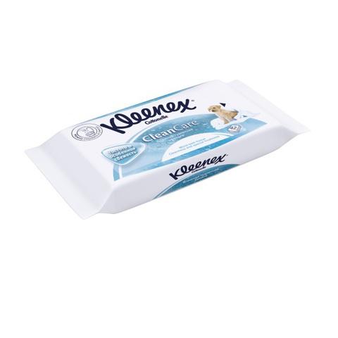 Kleenex. Влажная туалетная бумага (сменный блок), 1 уп/42 шт