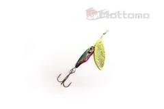 Блесна Mottomo Spin Blade #1 6g Silver Gold