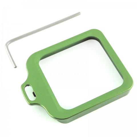 Алюминиевая рамка (Зеленая) для бокса GoPro 3 • 4