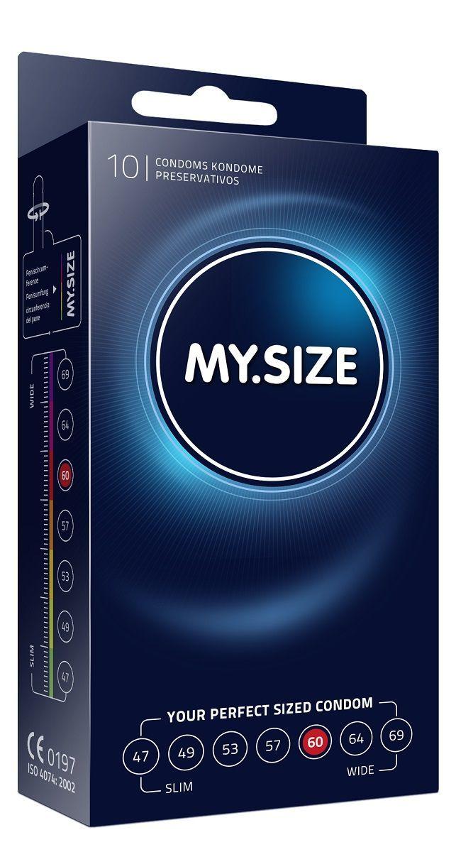 Презервативы MY.SIZE размер 60 - 10 шт.