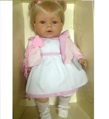 RAUBER Тереза в розовой курточке, 38 см (в коробке) (003801)