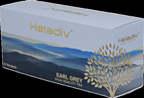Чай черный Heladiv Earl grey в пакетиках, 25 шт