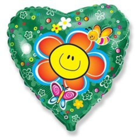 F Сердце Цветок Солнечная улыбка, 18