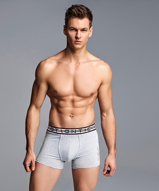 Трусы мужские шорты 3MH-013 хлопок. Набор из 3 шт.