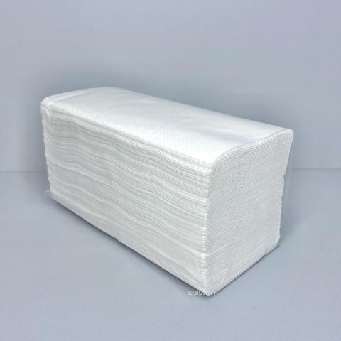Полотенце бумажное V сложения 2сл. (150 л.) белое
