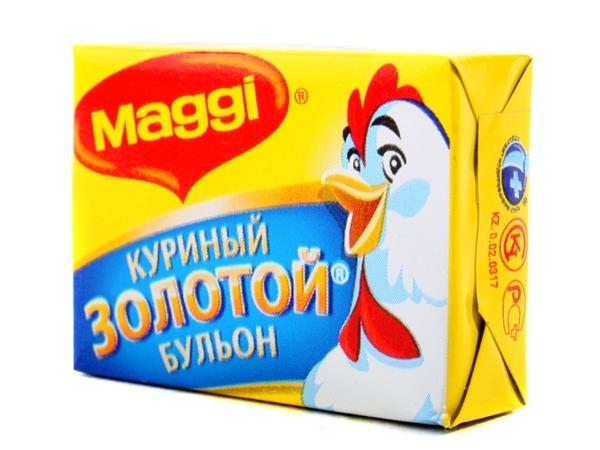 Бульон Maggi куриный в кубиках 10г