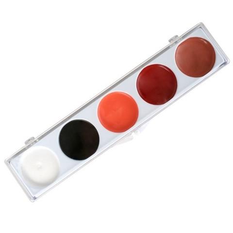 MEHRON Палитра на 5 цветов ProFACE Clown Base Make up 5-Color Kit