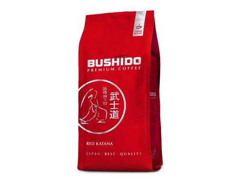 Кофе в зернах Bushido Red Katana, 1 кг