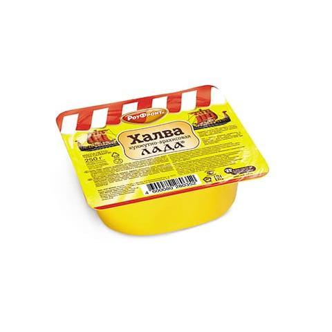 Халва Лада кунжутно-арахисовая, Рот Фронт, 250 гр.