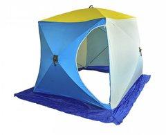 Палатка для зимней рыбалки Стэк Куб-2 трехслойная Long (дышащий верх)