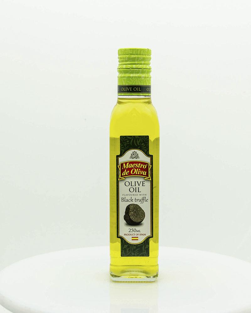 Масло оливковое Maestro de Oliva с Ароматом Черного Трюфеля 0,25 л.