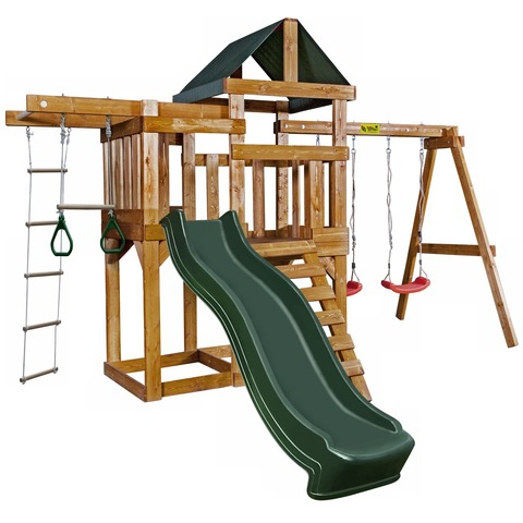 Babygarden Play 6 зеленый - игровая площадка BG-PKG-BG022-DG