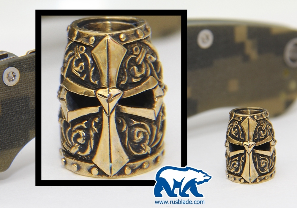 "Custom Sword Knot ""Helmet of Spartans"" Limited Edition"