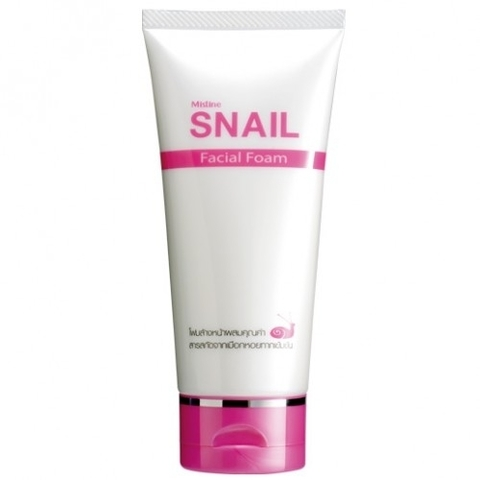 Пенка для умывания с улиткой Mistine Snail Facial Foam, 80мл.
