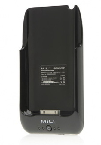 MiLi Power Pack (HI-C10) – дополнительный аккумулятор для iPhone 3G(S) (Black)