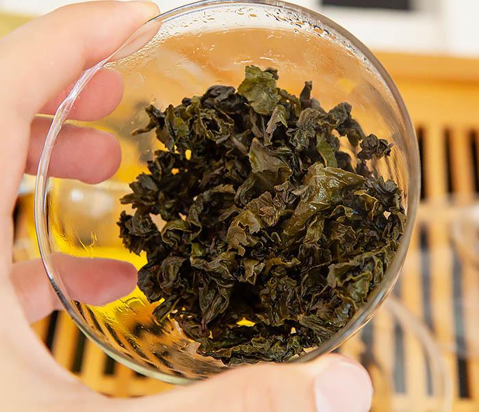TEA-CH132 Чай улун Као Те Гуан Инь (слабая обжарка, 50 гр) фото 17