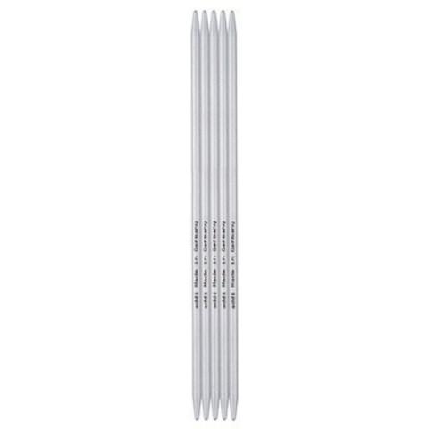 Спицы для вязания Addi чулочные, алюминиевые, 20 см, 5 мм