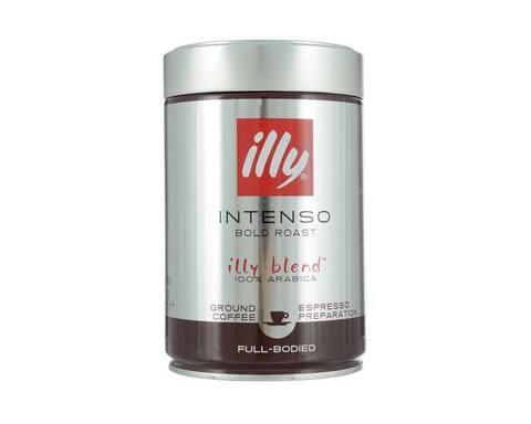 Кофе молотый Illy Caffe Intenso темная обжарка, 250 г