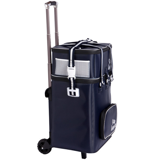 Cooler bag 45l & waterproof bag w/ trolley Sea Lovers