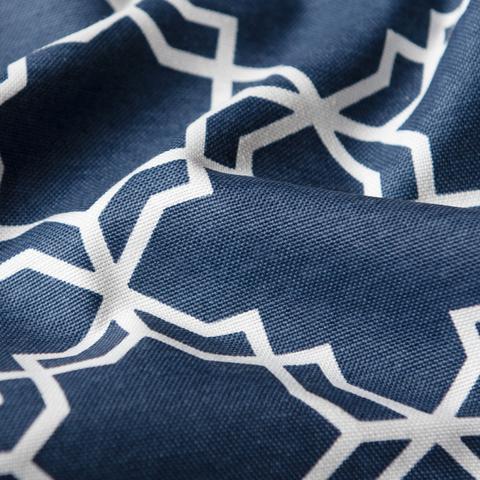 Ткань хлопок Тренд синий