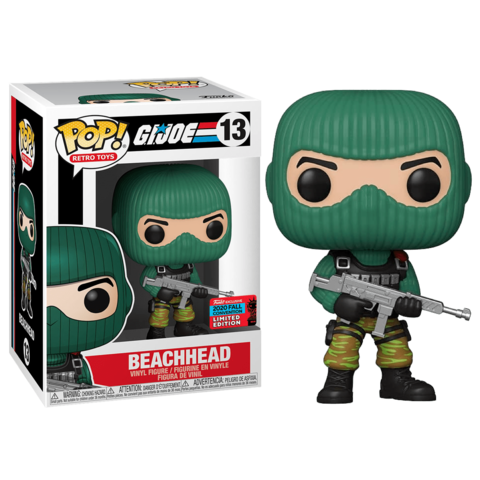Beachhead G.I.Joe Funko POP! NYCC2020 (Exc) || Печка
